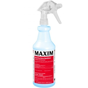 Maxim Hard Surface Sanitizer Tabletop and Decanter