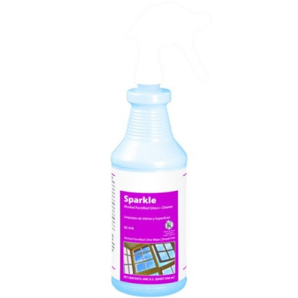 Sparkle Alcohol Fortified Glass+ Cleaner