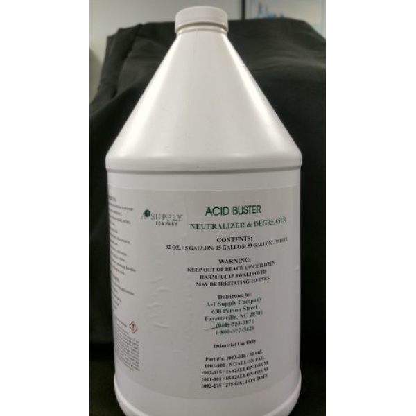 Acid Buster™ Neutralizer & Degreaser 15Gal