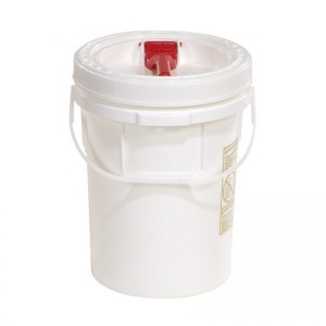 5-Gallon Pail with Screw Top Lid