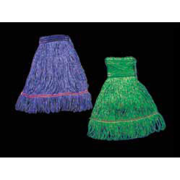 Blue Looped-end Mop Narrow Band Large