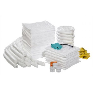 Oil-Only 95-Gallon Recycled Spill Kit Refill