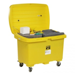 Universal Spill Cart Kit with 5in Wheels
