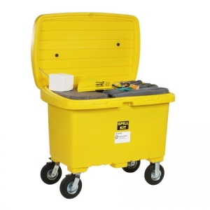 Universal Spill Cart Kit with 8in Wheels